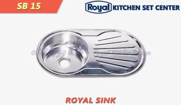 ROYAL SINK ROYAL SINK 08<br>(SB 15) 1 produk_royal_kitchen_set_sink_08
