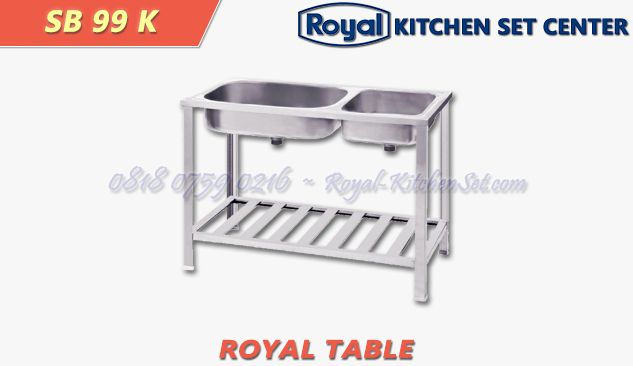 ROYAL TROLLEY AND TABLE ROYAL TABLE 05<br>(SB 99 K) 1 produk_royal_kitchen_set_table_05