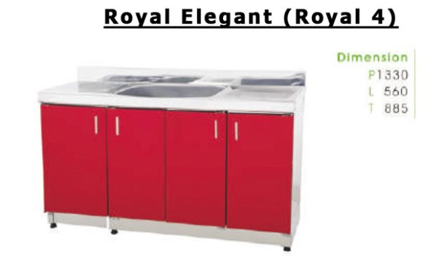 ROYAL KITCHEN SET ROYAL KITCHEN ROYAL ELEGANT<br>(ROYAL 4) 2 royal_elegant_royal_4