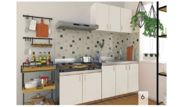 ROYAL KITCHEN CABINET KITCHEN KABINET SUDUT<br>KD CS 4 white_kabinet
